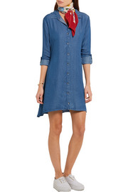 Splendid Belted denim shirt dress