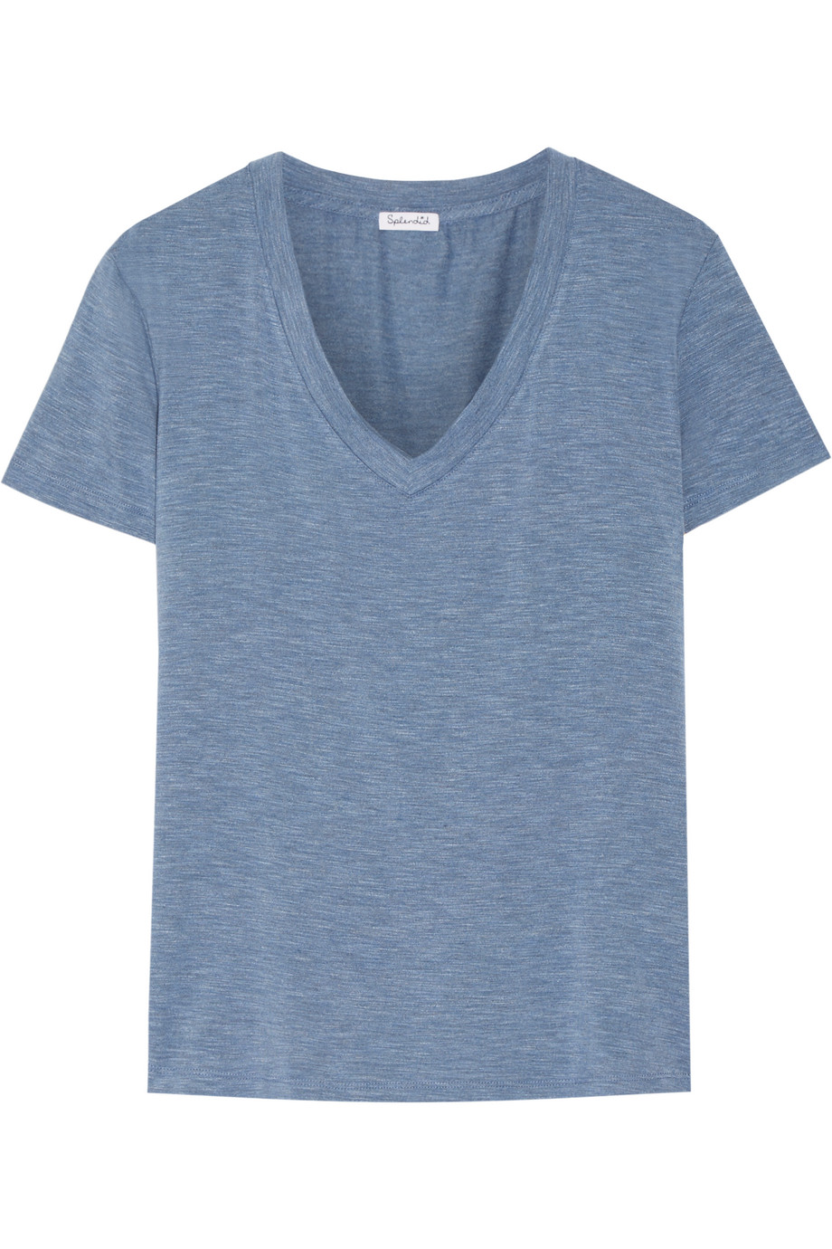 Splendid Stretch Modal-Jersey T-Shirt, Blue, Women's