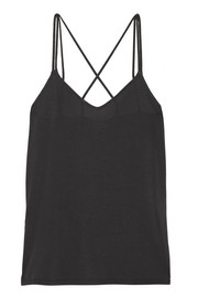 Washed modal-blend jersey camisole