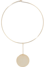 Kenneth Jay Lane Gold-plated choker