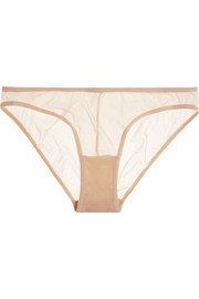 Soire stretch-mesh briefs