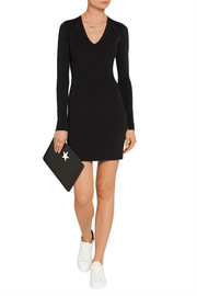 Rag & bone Galina cutout ribbed-knit mini dress