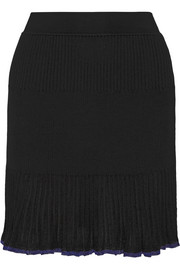 Rag & bone Yasmine ribbed-knit mini skirt