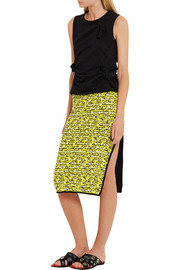 Viola cotton-blend skirt