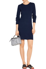 Rag & bone Liliana ribbed cashmere mini dress