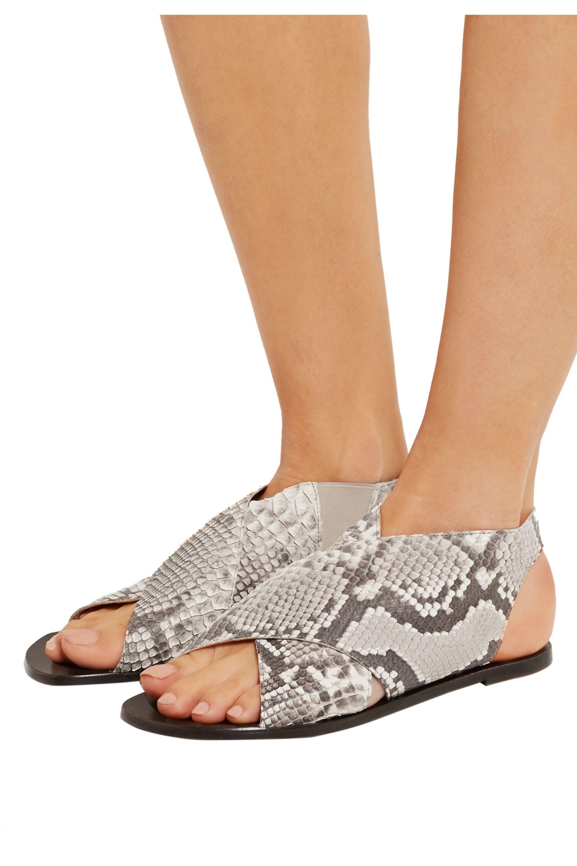 ATP Atelier Tora python sandals