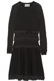 Jason Wu Fringed stretch-knit dress