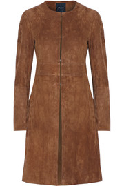 Alvington suede coat