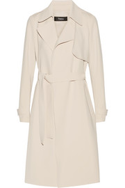 Oaklane B crepe trench coat