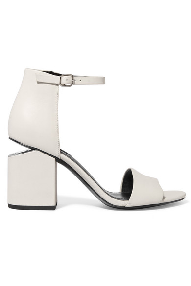 4ae9bbc46596 Alexander Wang. Abby leather sandals