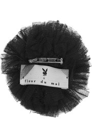 + Playboy Bunny Tail tulle pin