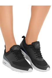 Air Max Thea mesh and faux leather sneakers