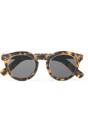 Leonard II Ring round-frame acetate and metal sunglasses