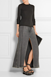 T by Alexander Wang Ribbed merino wool sweater