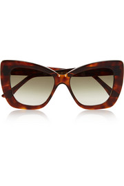 Circus cat-eye acetate sunglasses