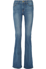 Le Forever Karlie Flare high-rise jeans