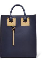 Albion mini leather tote