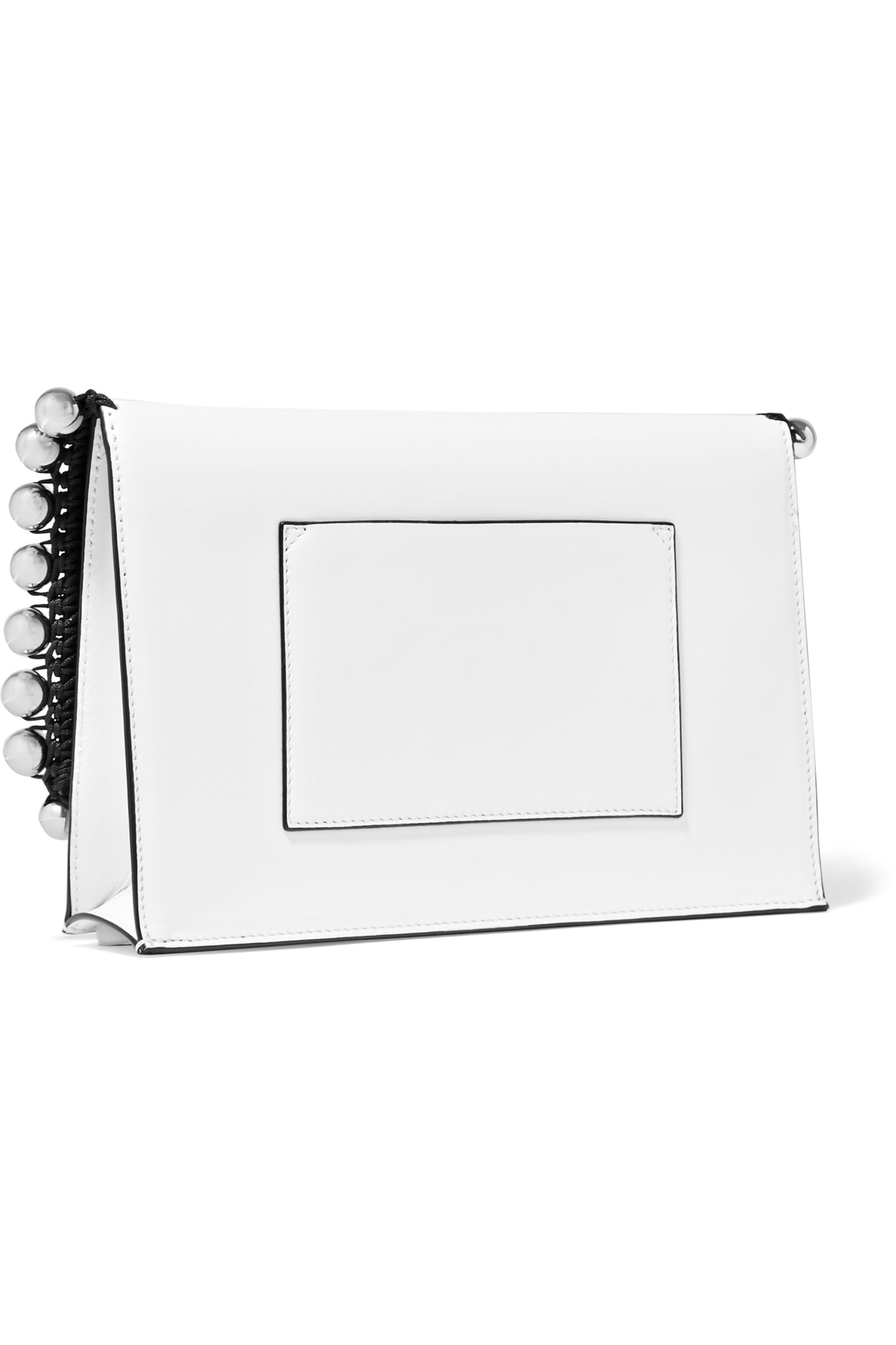 Proenza Schouler The Lunch Bag small embellished leather clutch