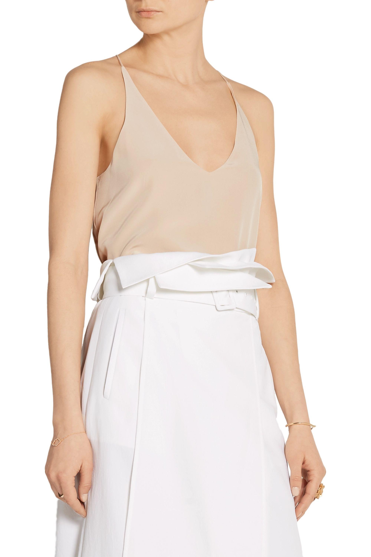 Tibi Silk crepe de chine camisole
