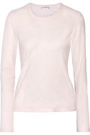 Slub cotton-jersey top