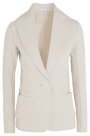Cotton-jersey blazer