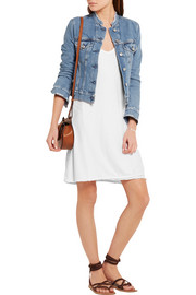 James Perse Cotton-jersey mini dress
