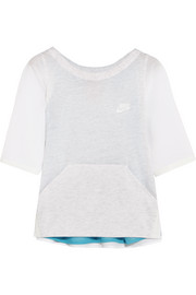 Nike Premium Pack modal-blend jersey and voile top