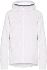 Nike Tech Fleece cotton-blend jersey hooded top