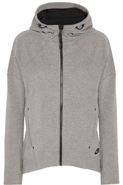 Tech Fleece cotton-blend jersey hooded top