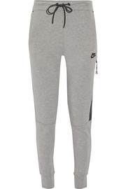 Nike Tech Fleece cotton-blend track pants