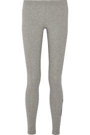 Leg-A-See stretch cotton-blend jersey leggings