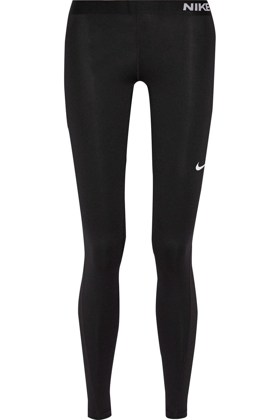 Nike Pro Cool Dri-FIT Stretch-Jersey Leggings, Black, Women's, Size: XL