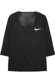 Nike Cool Breeze Dri-FIT slub jersey top