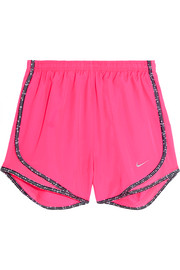 Nike Tempo mesh-paneled Dri-FIT shell shorts