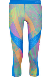 Nike Pro Hypercool Frequency printed stretch-jersey leggings