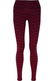 Legendary printed stretch-jersey leggings
