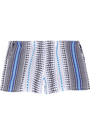 Jaha cotton-blend gauze shorts