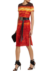 Altuzarra Glaze tie-dyed silk-satin dress