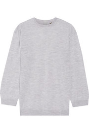 Adam Lippes Cashmere and silk-blend sweater