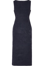 Adam Lippes Suede midi dress