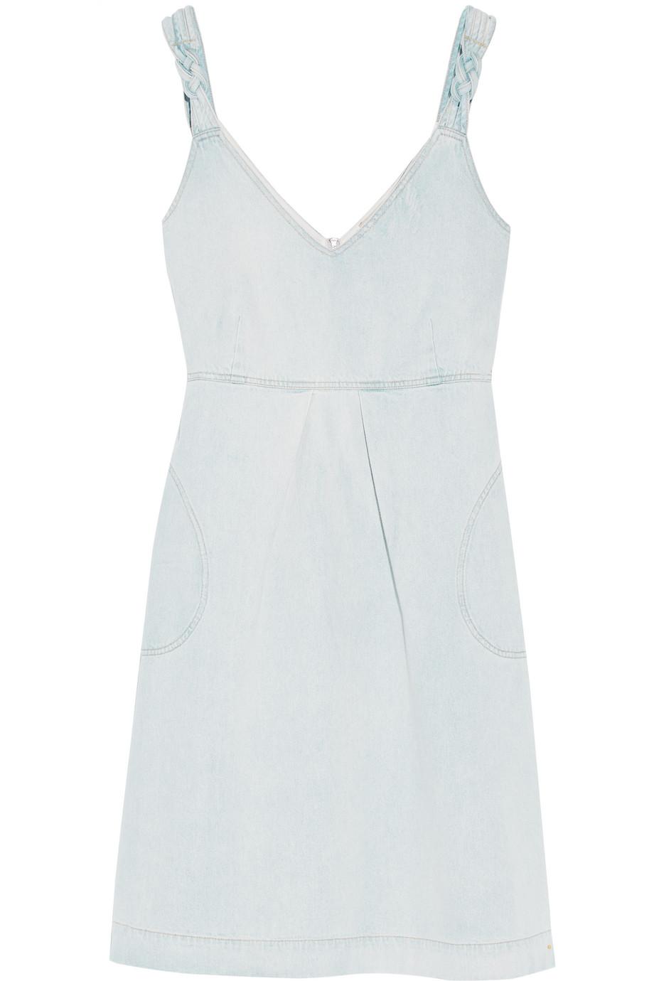 SEA Denim Dress, Light Denim, Women's, Size: 2