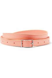 Chesilton textured-leather belt