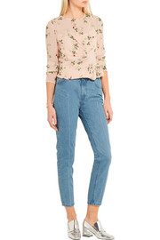 Draycott cropped high-rise skinny jeans