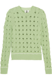 Ixworth cable-knit cotton-blend sweater