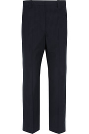 Jermyn pinstriped crepe tapered pants