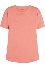 Whisper cotton-jersey T-shirt