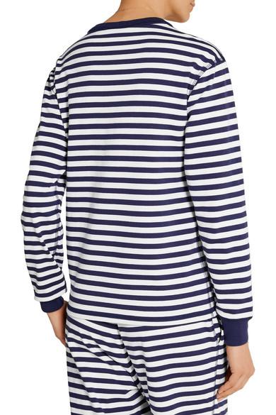 Sleepy Jones. Helen striped cotton-jersey pajama top. $36. Zoom In