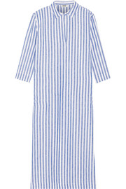 Celia striped linen nightdress