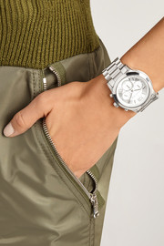 Michael Kors Cooper silver-tone watch
