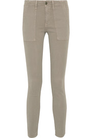 The Skinny Armies brushed-twill pants